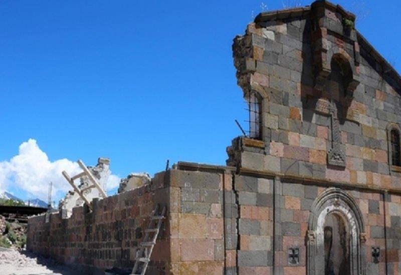 Армянские вандалы разрушили грузинский храм - ПОДРОБНОСТИ