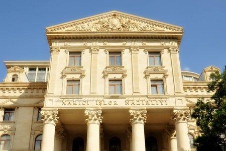МИД Азербайджана: Не хотелось бы верить, что в Армении побеждает партия войны