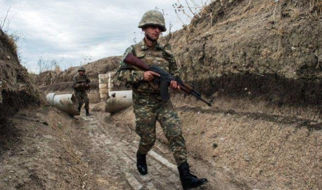 В Карабахе армянский солдат получил пулю от сослуживца