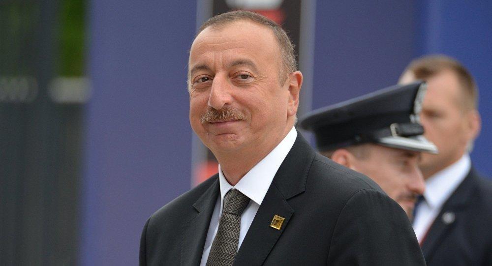 Ильхам Алиев удостоен медали