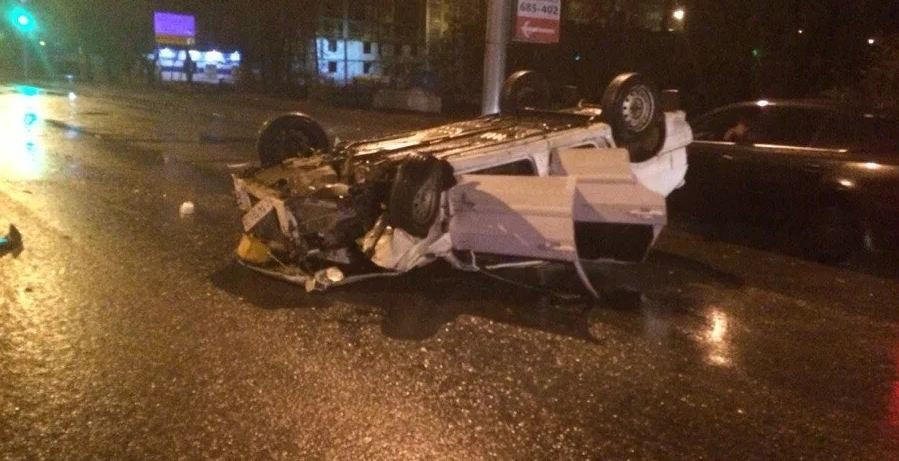 Пьяный водитель устроил массовое ДТП в Баку