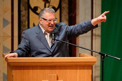 Жириновский назвал цель обострения в Грузии