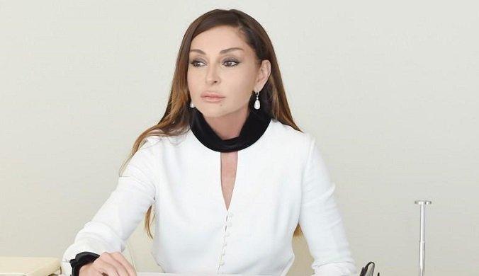 Мехрибан Алиева поблагодарила Владимира Путина