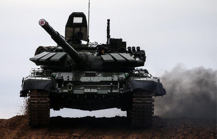 Российская армия получила новые танки Т-90М