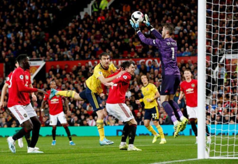 «Манчестер Юнайтед» сыграл вничью с «Арсеналом» в центральном матче тура АПЛ
