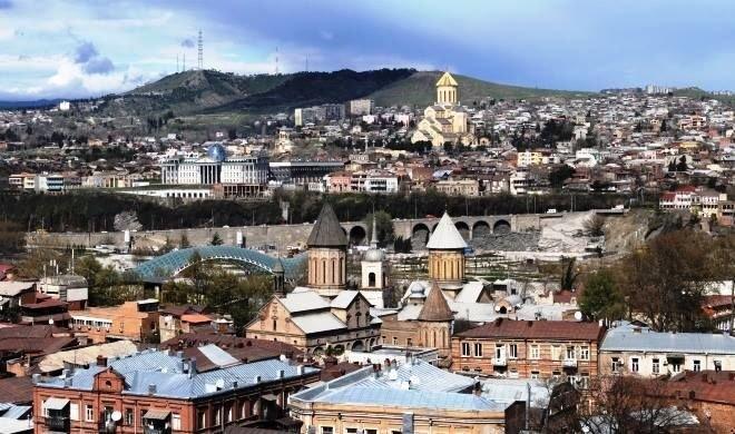 Драка между азербайджанцами и грузинами в Тбилиси