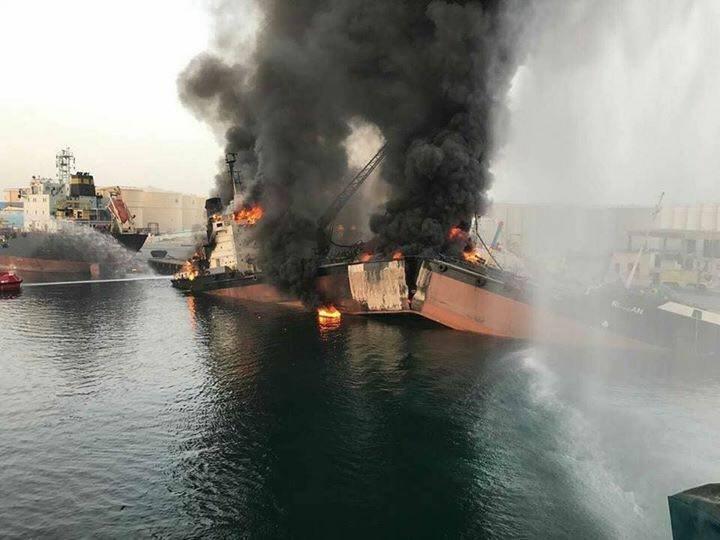 В Саудовской Аравии взорвался иранский танкер