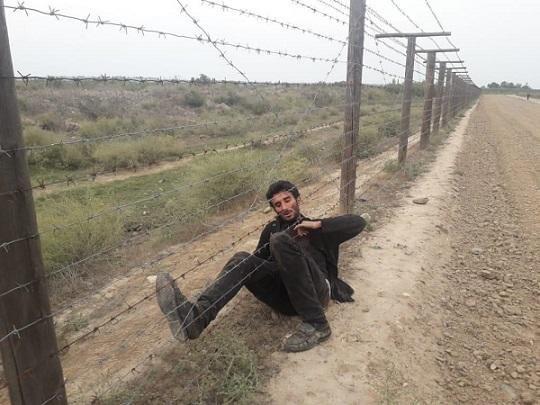 На границе произошел инцидент, ранен пограничник