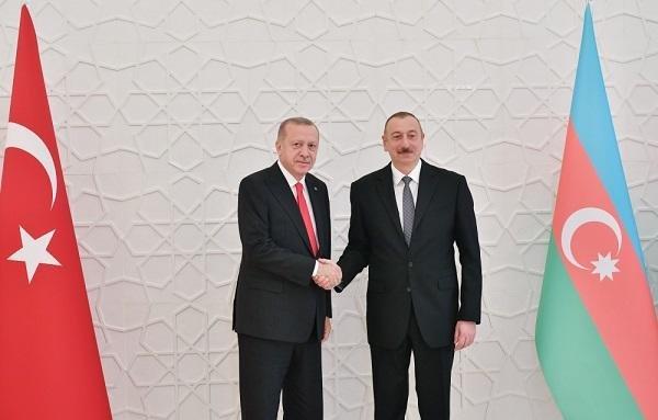 Ильхам Алиев встретился с Эрдоганом