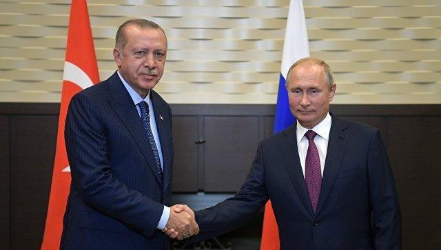 Путин пригласил Эрдогана в Россию