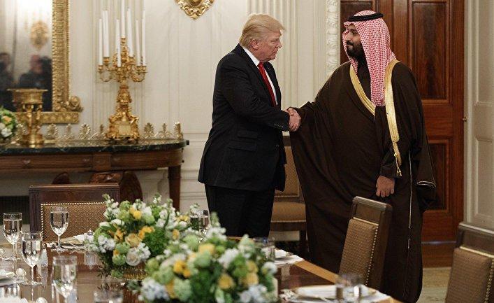 Саудовской принц поздравил Трампа