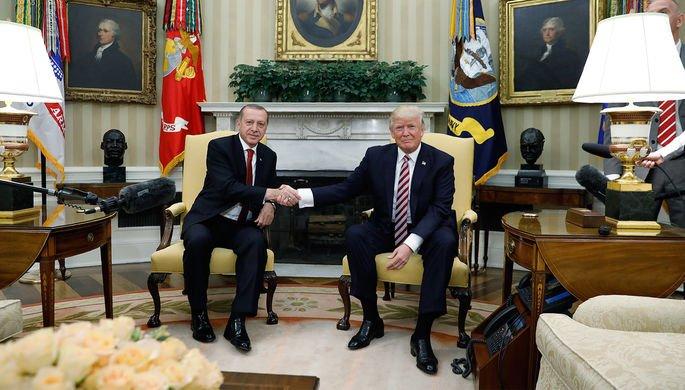 Эрдоган и Трамп встретятся в Вашингтоне