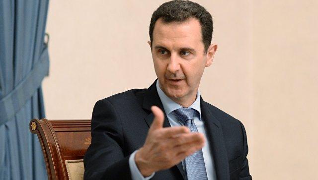 Дамаск не согласится на разделение Сирии - Асад