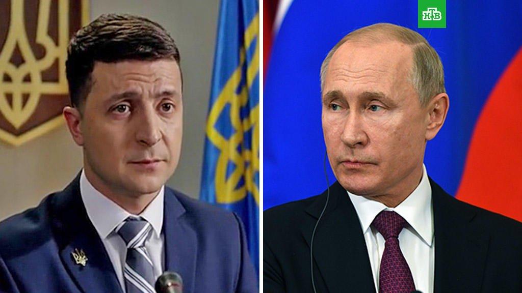 Путин и Зеленский обсудили поставки газа в Украину