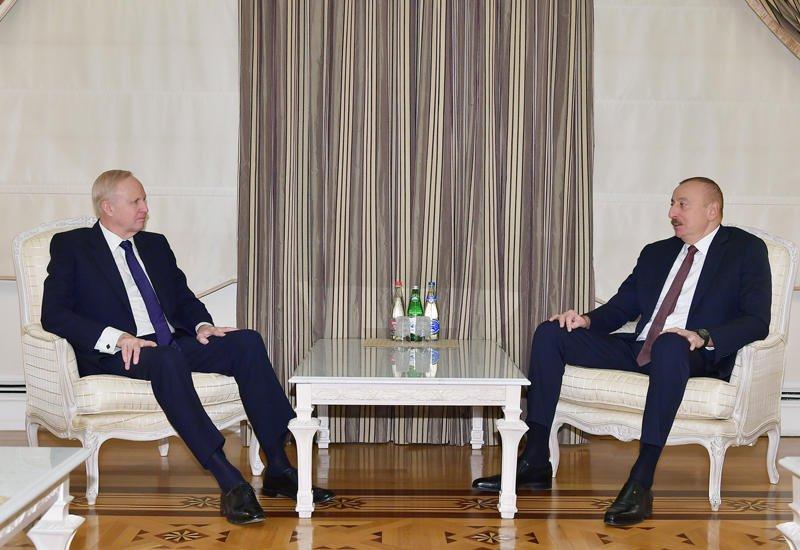 Президент Ильхам Алиев принял генерального исполнительного директора группы ВР - ФОТО