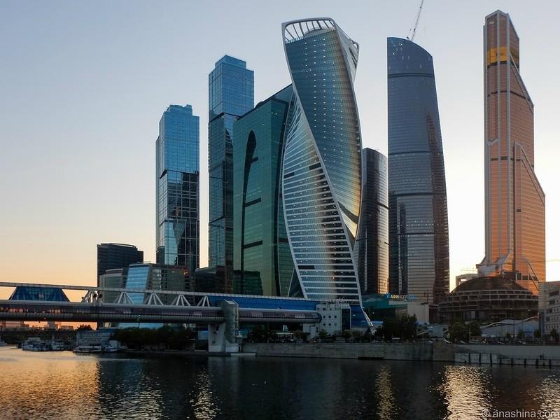 В Москве строят самый высокий небоскреб Европы