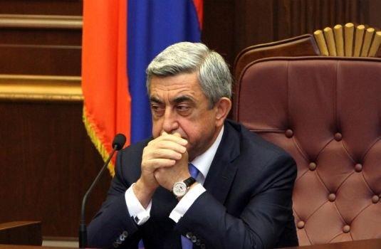 На имущество Саргсяна наложили арест