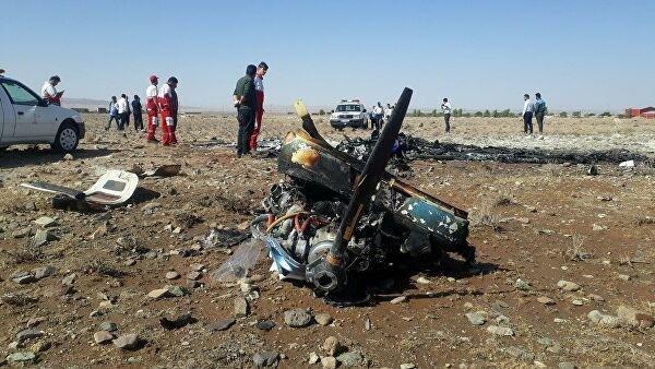 Иран отправил черный ящик со сбитого самолета во Францию