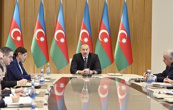 Ильхам Алиев провел совещание