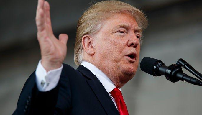 Трамп примет участие в митинге