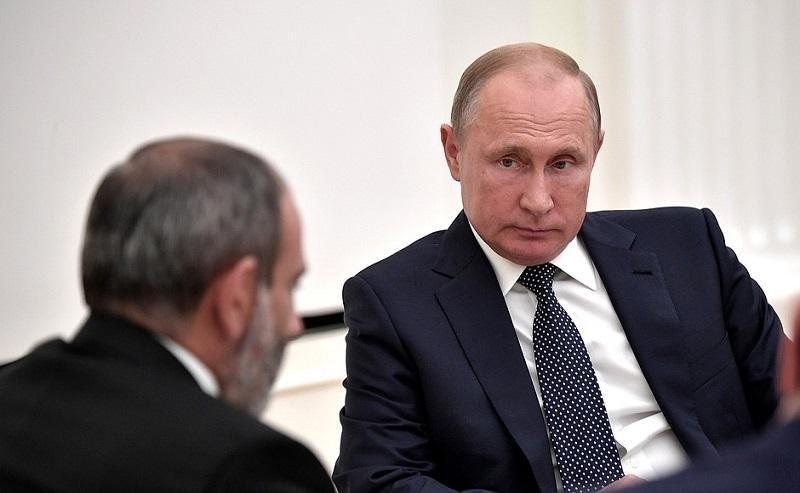 Армяне: Путин «официально» ненавидит Пашиняна