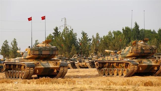 ВС Турции нейтрализовали свыше 1700 военных армии Асада