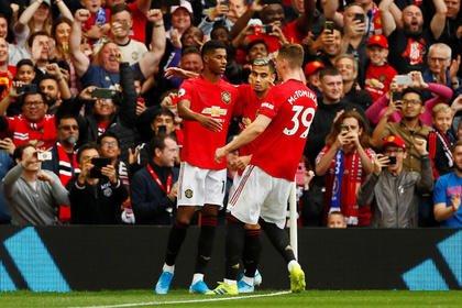 «Манчестер Юнайтед» вышел в следующий этап Лиги Европы