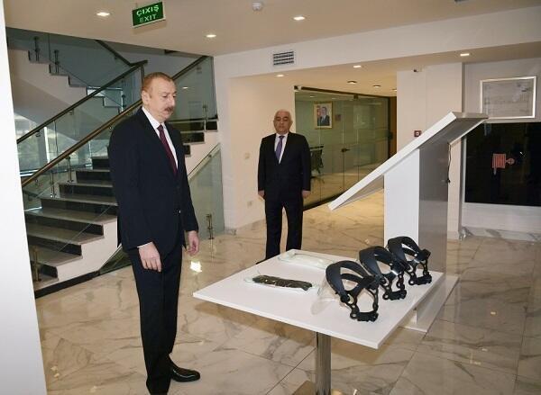 Ильхам Алиев на открытии нового комплекса - Фото