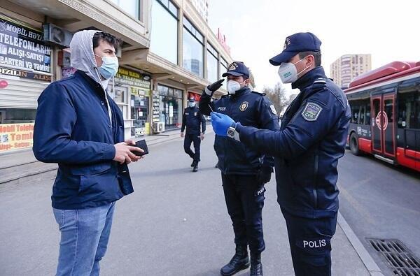 В Баку задержаны 275 нарушителей карантинного режима