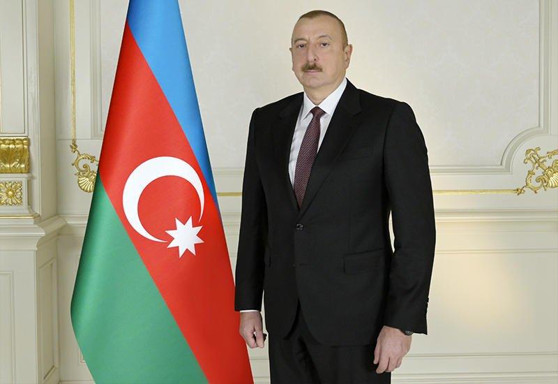 Президент Ильхам Алиев прибыл в Гобустанский район