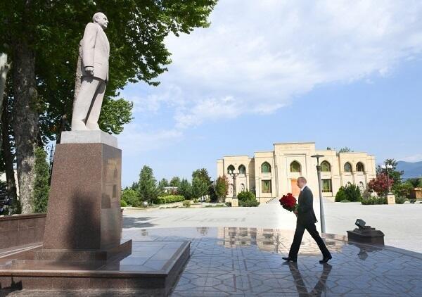 Президент отправился в Исмаиллы