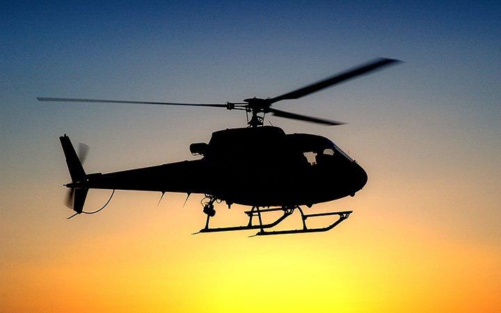 В США неизвестные обстреляли военный вертолет