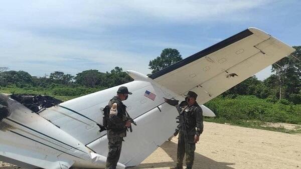 Военные Венесуэлы сбили самолет США