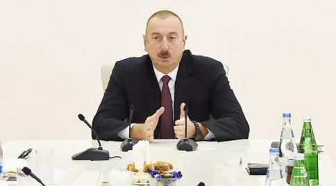Алиев: Азербайджан проводит операции на своих землях