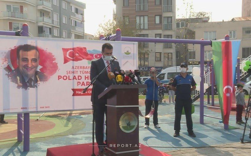 В Турции открылся парк имени генерала Полада Гашимова - ФОТО