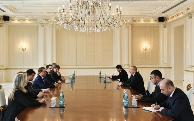 Президент принял вице-спикера Палаты депутатов Италии
