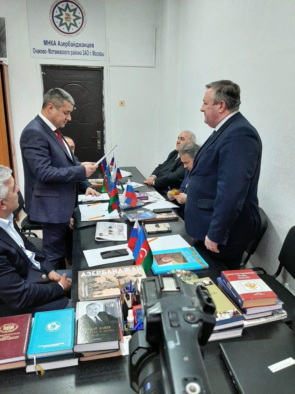 В Москве прошла встреча с представителями российской общественности и СМИ