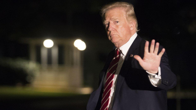 Трамп выступил с заявлением после импичмента
