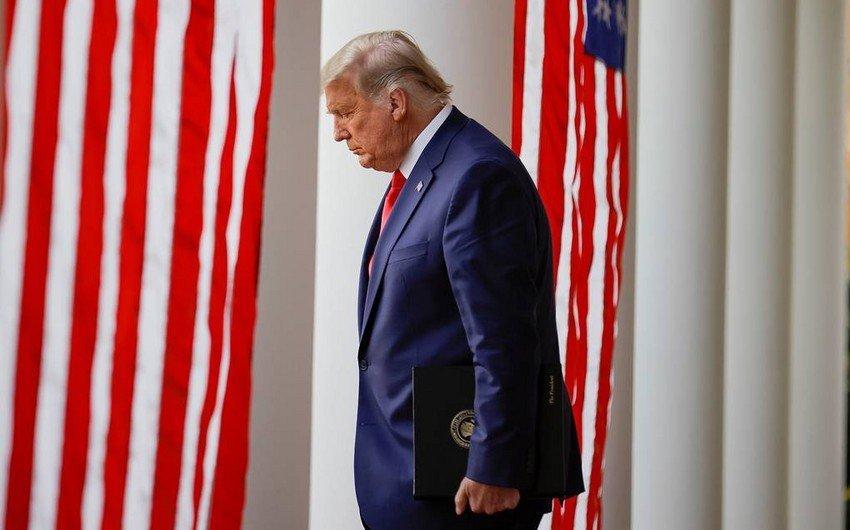 Трамп записал прощальное обращение на посту президента
