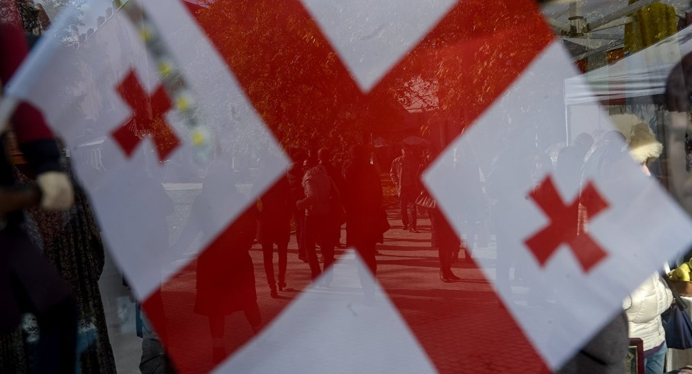 В Грузии приспущены государственные флаги