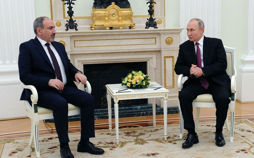 Путин обсудит с Пашиняном ситуацию в Карабахе