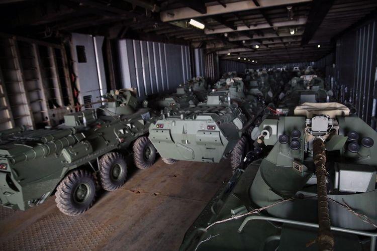 Русский пытался отправить военное оборудование в Армению