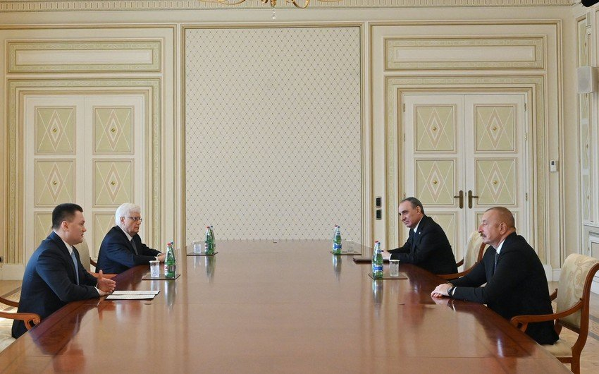 Президент Азербайджана принял генпрокурора России