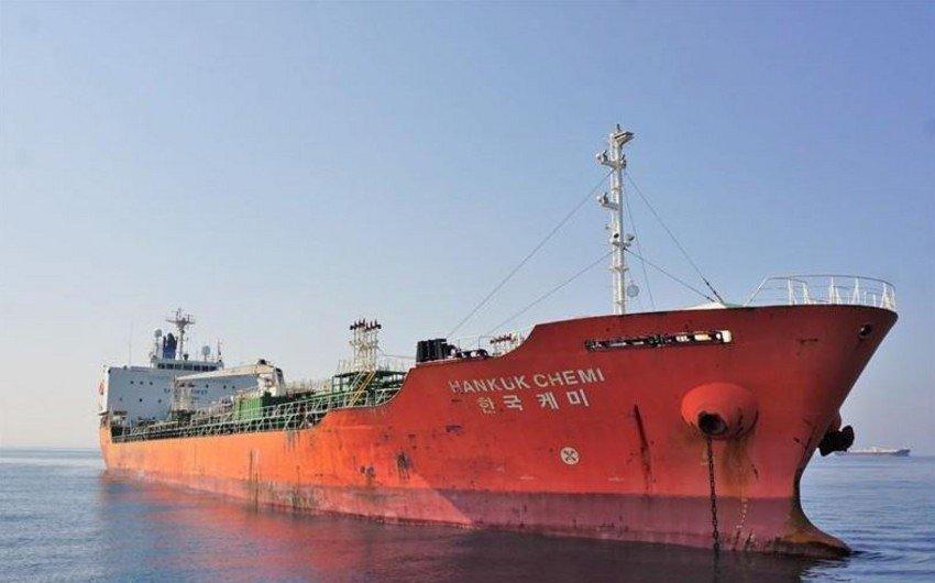 Иран отпустил задержанный южнокорейский танкер