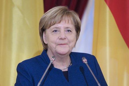 Меркель выразила поддержку Израилю