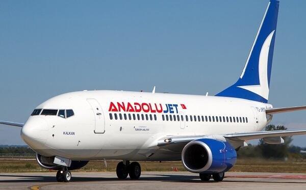 AnadoluJet запускает рейсы Анталья-Баку-Анталья