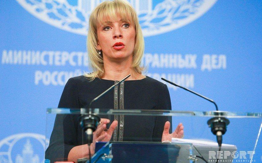 Захарова: Россия рассчитывает, что процесс разминирования в Карабахе будет ускорен