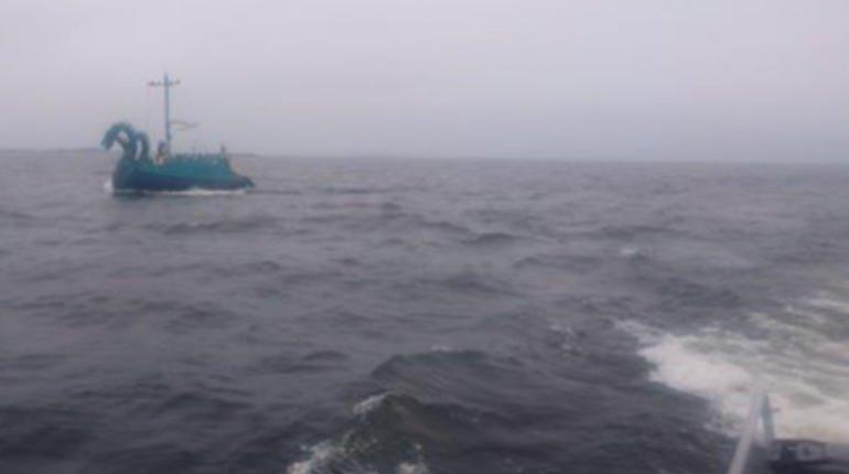 В России столкнулись два судна