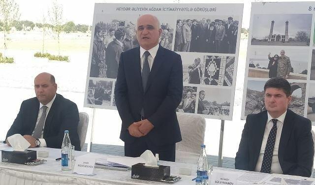 Вице-премьер Азербайджана проводит заседание в Агдаме