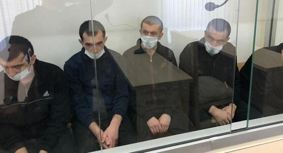 Армянские диверсанты дают показания в суде